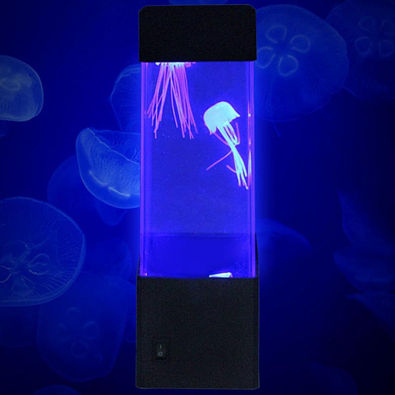 Mini Quallen Aquarium mit Quallen für Zuhause