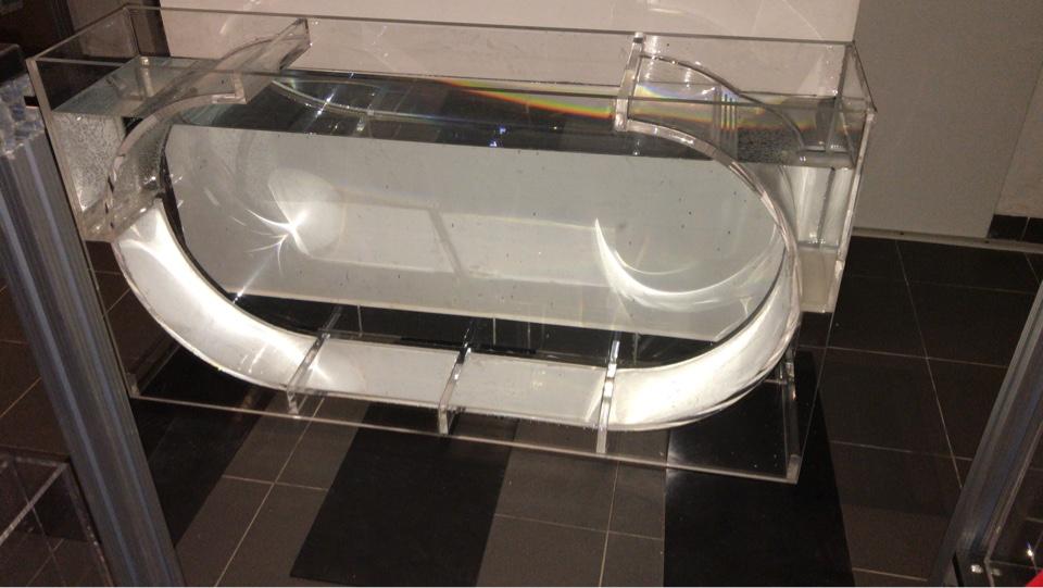 Quallen aquarium 160 l . 130 cm x 70 cm